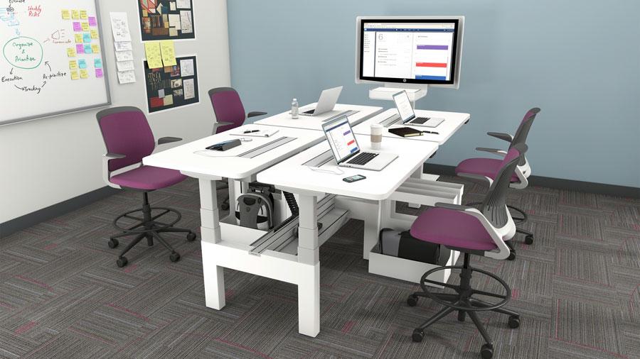 现代办公家具不仅是家具,也是办公室装饰的一部分