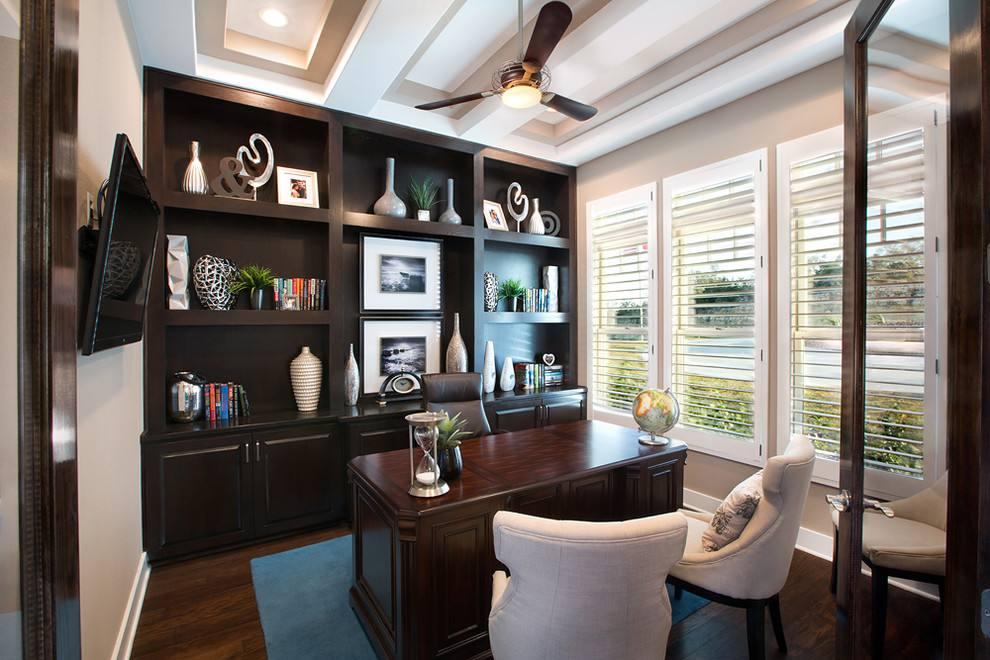 小小书房,怎样在装修的时候做好家具搭配